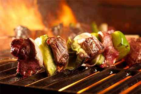 Izgara Cyprus BBQ - Two Course Meal For Two - Save 53%