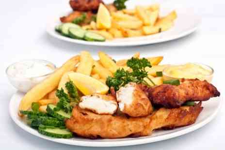 The Jam House - Fish and Chips With Prosecco For Two - Save 62%