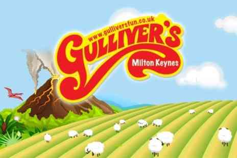 Gullivers Land - Entry to the Theme Park, Farm and Dinosaur Park - Save 55%