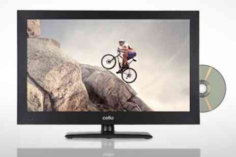 Ebuyer.com - Cello 24 inch LCD TV With Built In DVD and Free view - Save 40%