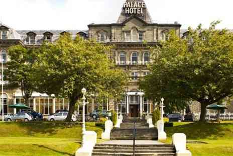 The Palace Hotel Buxton - One Peak District Night Stay For Two With Three Course Meal - Save 48%