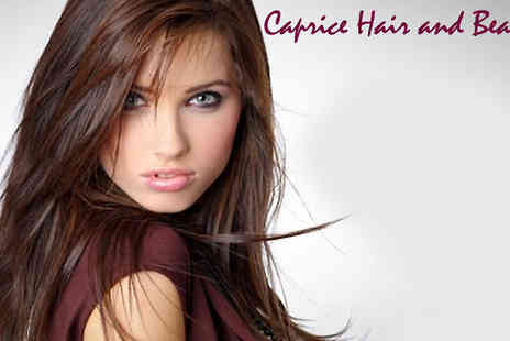 Caprice Hair and Beauty - Cut, colour, wash & blow dry - Save 68%
