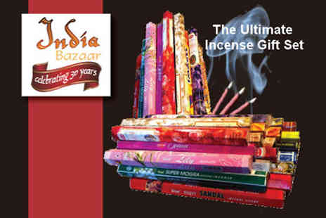 India Bazaar - Ultimate Incense Gift set - Save 67%