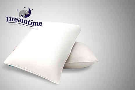 Wowcher Shop - Set of 2 Dreamtime Memory Foam Pillows - Save 37%