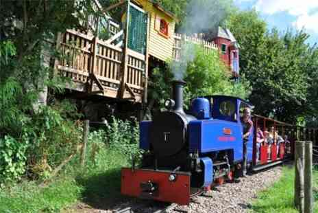 Perrygrove Railway -  Treetop Adventures  Family Entry - Save 57%