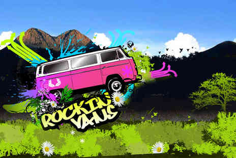 Rockinvans - Per night instead for campervan hire for 2 people - Save 50%