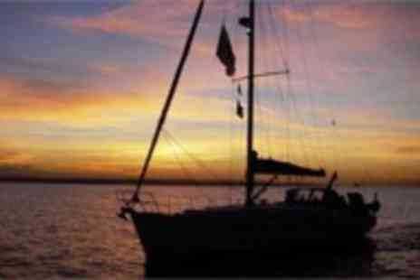Escape Yachting - Luxury Solent Yachting Experience with meal & Champagne - Save 84%