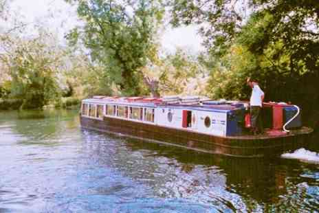 Cotswold River Cruises - Thames Boat Trip With Dinner for Two - Save 50%
