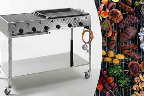 Landmann - Stainless Steel Landmann Professional Gas Catering BBQ - Save 20%