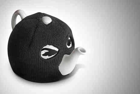 Wowcher Shop - Terrorist tea pot with balaclava tea cosy - Save 50%