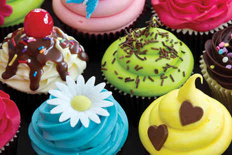 The Cookery School - Three hour cupcake making and decorating class inc. 6 cupcakes - Save 62%