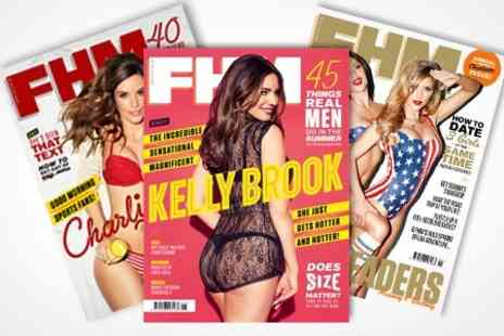 greatmagazines.co.uk - FHM Subscription - Save 58%