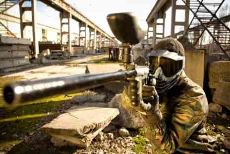 A.K Paintball - Paintball Experience For Five - Save 94%