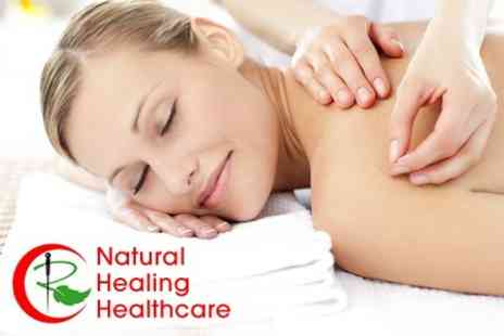 Natural Healing Healthcare - Choice of Natural Healthcare Treatment Packages for £22 - Save 78%