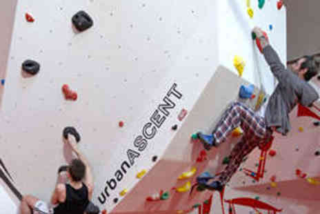 Urban Ascent - One Hour Introduction to Bouldering - Save 63%