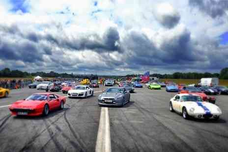 The Childrens Trust Tadworth - The Supercar Event Tickets For Two Adults - Save 50%