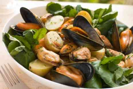 Bel Paese - Two Course Italian Meal Including Mussels and Steak For Two - Save 54%