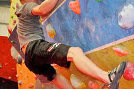 Climb North East - Full Day Bouldering for Two People - Save 53%