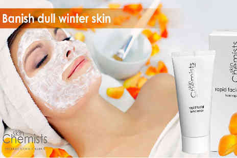 Skin Chemist - Give your skin that healthy and radiant look with this Rapid Facial - Save 83%
