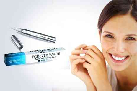 Just Smile - Non peroxide Forever White teeth whitening pen - Save 85%