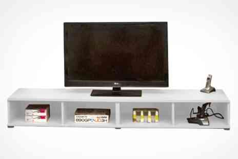 EasyGift Products - Wide TV Entertainment Unit in Choice of Colours - Save 58%