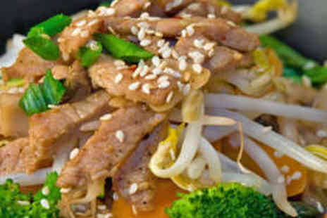 Noodle Street - Lunchtime Main and Bubble Tea - Save 49%