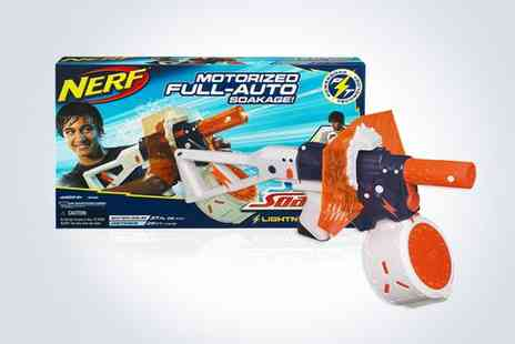 Supa Value - Two motorised full auto Nerf Super Soakers - Save 50%