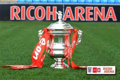 Ricoh Arena - Executive Match Day Package at the Women's FA Cup Final For Up to Twelve People - Save 62%