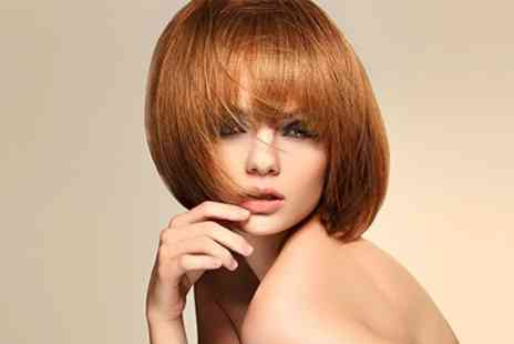 Total Image - Full Head of Highlights or Colour With Blow Dry - Save 60%