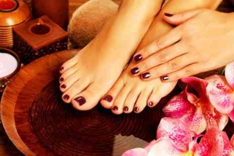 Elegance Hair and Beauty - OPI Mini Manicure and Pedicure - Save 59%