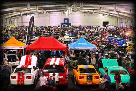 The Scottish Car Show - Queue Jump Tickets For One - Save 63%