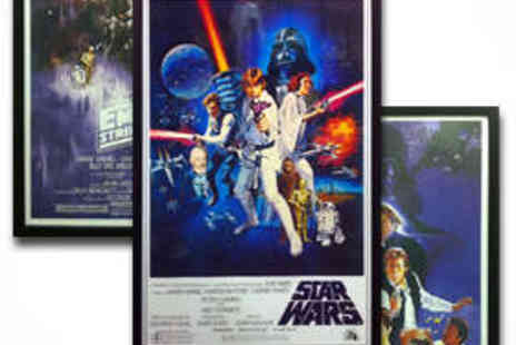 All Star Signings - Star Wars Poster Signed by Dave Prowse Darth Vader - Save 51%