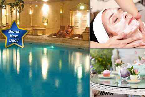 Cwrt Bleddyn Hotel - Luxury spa day including a choice of taster treatment - Save 50%