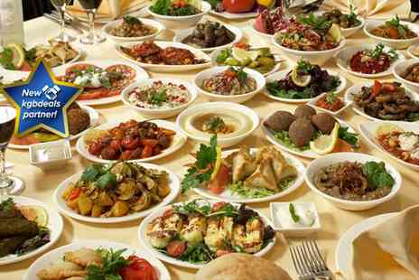 Raoshi Resturant & Banquet Suite - Three course Lebanese meal for two - Save 59%