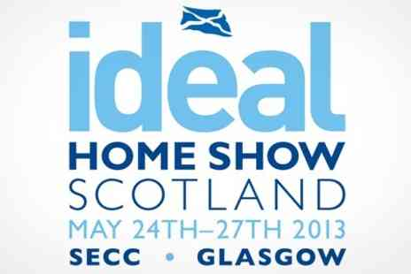 Ideal Home Show Scotland - Two Tickets - Save 50%