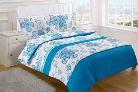 Textiles Direct - Elizabeth Jayne Bedding Five Piece Double Set With Free Delivery - Save 50%