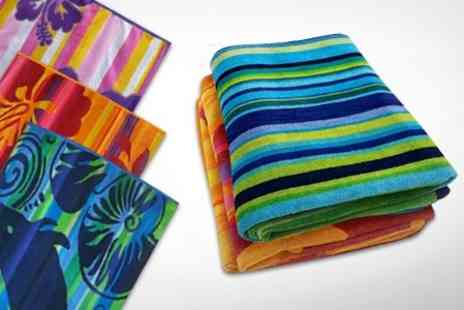 Dynergy - Beach Towels: One or Two in Choice of Designs With Free Delivery - Save 0%