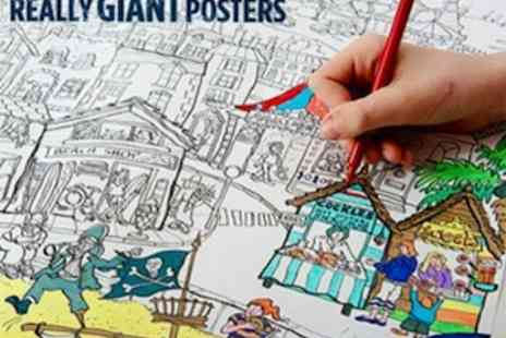 Really Giant Posters - Perfect Half Term Activity - Save 50%