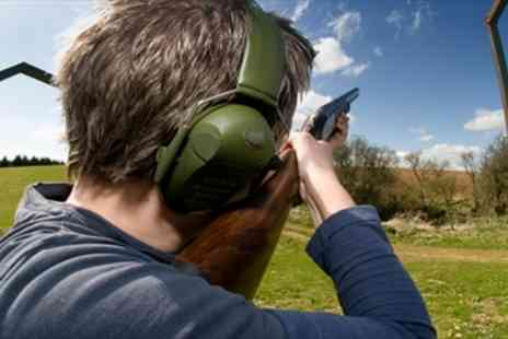 Hereford & Worcester Shooting - Clay Pigeon Shooting Experience for 2 - Save 59%