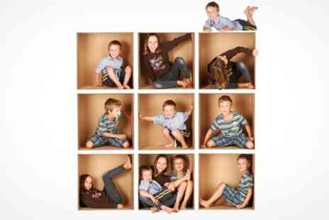 Photo Stoke - Family Photoshoot With Framed Print - Save 89%