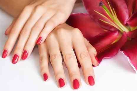 Sparkle Treatments - Shellac manicure and pedicure - Save 70%