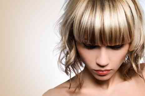 Aquarius Hair and Beauty Salon - Highlights Cut and Condition - Save 64%