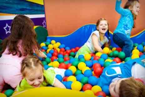 Overboard Softplay -  Play Plus Lunch For Two Children - Save 40%