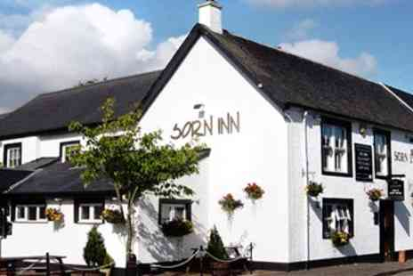 The Sorn Inn - Steak Dinner with sauces and bubbly for two - Save 41%