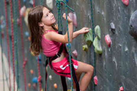 Undercover Rock - Introductory Climbing Session for One Child - Save 50%