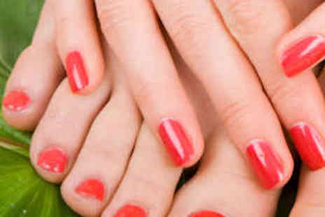 Blush - Gel Manicure and Pedicure - Save 63%