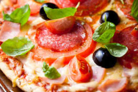 Chequers - Pizza with Wine or Beer for Two - Save 50%