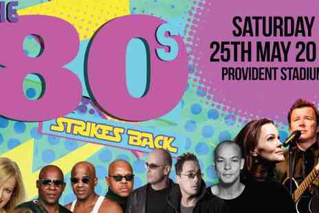The Ticket Sellers - 80s Strikes Back Gig Bradford - Save 50%