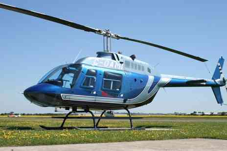 Adventure001 - London Sky scape Helicopter Tour - Save 30%