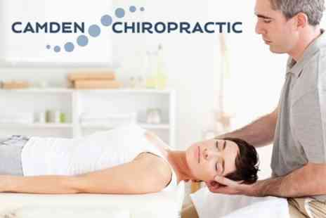 Camden Chiropractic - Chiropractic, Spinal Assessment and Three Treatments - Save 76%
